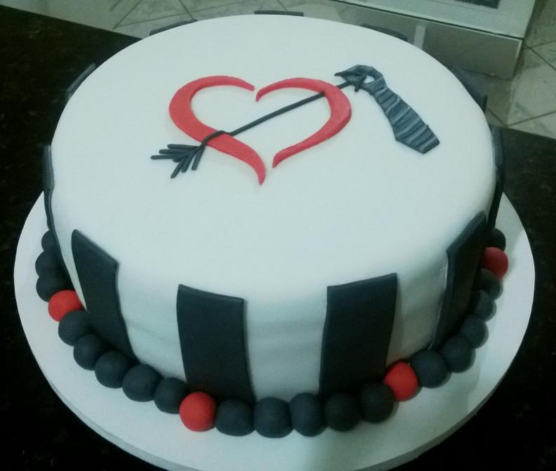 Bolo feito por Priscylla Cajueiro Cupcakes