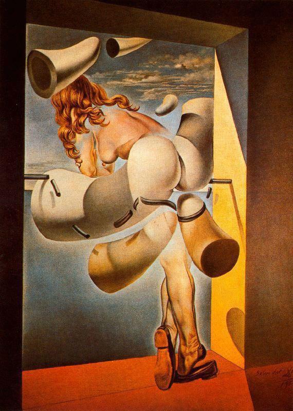 Salvador Dali: A jovem virgem auto-sodomizada por sua própria castidade (1954)