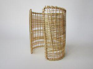 Bracelete Teia Dourado