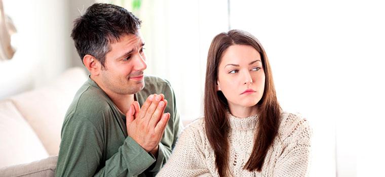 Devo castigar meu marido?